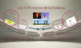 Copy of 5 Principios de la Estática