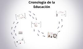 Cronología de la Educación (Siglo XVI - Siglo XXI)