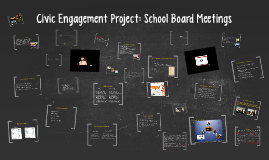 Civic Engagement Project: School Board Meetings