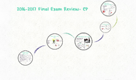 2016-2017 Final Exam Review- CP