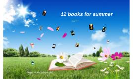 12 books for summer