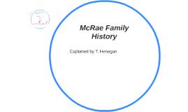 McRae Family History