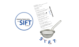 Analyzing Poetry with SIFT (Mary Oliver)