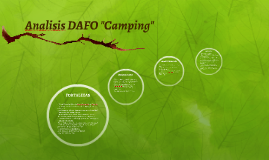 "Copy of Analisis DAFO ""Camping"""