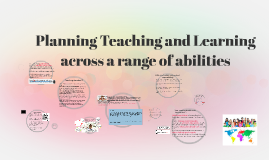 Planning Teaching and Learning across a range of abilities
