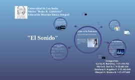 """Copy of """"El Sonido"""""""