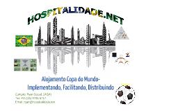 Hospitalidade - Alojamento Copa do Mundo - Português