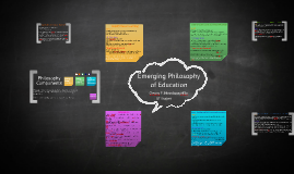 Copy of Emerging Educational Philosophy