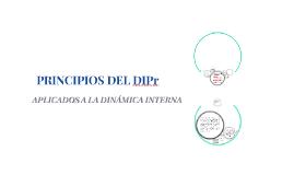 PRINCIPIOS DEL DIPr
