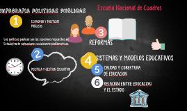 ECONOMIA Y POLITICAS PUBLICAS