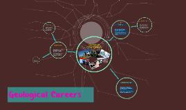 Geological Careers