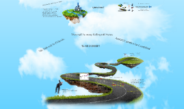 Copy of Floating island 3d prezi template