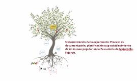 Copy of Sistematización de la experiencia: proceso de documentación,