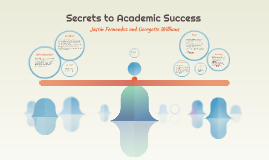 Copy of Secrets to Academic Success