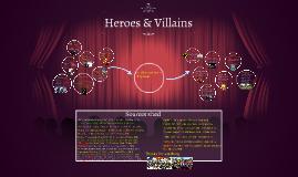 Hero and Villain comparison