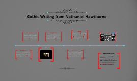 Gothic Writing from Nathaniel Hawthone