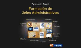 Seminario Formación Jefes Administrativos