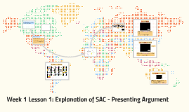 Week 1 Lesson 1: Explanation of SAC - Presenting Argument
