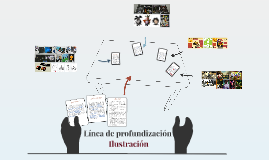 Línea de profundización Ilustración