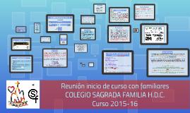 Copy of Inicio curso 15-16