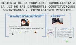 LASOBRE REGISTRO Y CONSERVACION DE HIPOTECAS DEL 21 DE JUNIO