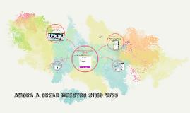 ahora a crear nuestro sitio web