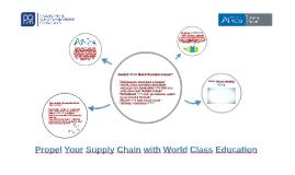 Pengembangan Supply Chain dengan World Class Education