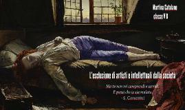 L'esclusione di artisti e intellettuali dalla società