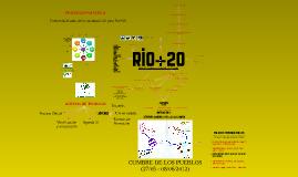Jovenes Camino a Rio+20