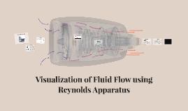 Copy of Visualization of Fluid Flow using Reynolds Apparatus