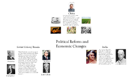 Political Reform and Economic Changes