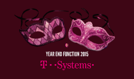 T-Systems - Year End Function 2015