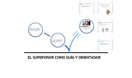 Supervisor: guía y orientador