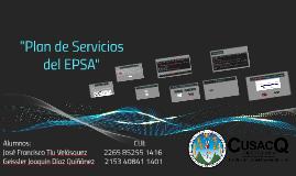 """""""Plan de Servicios del EPSA"""""""