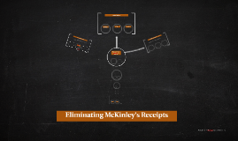 Eliminating McKinley's Receipts
