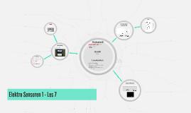Elektro Sensoren 1 - Les 7