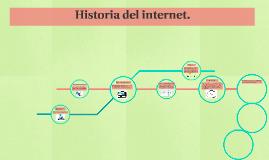 Historia del internet.