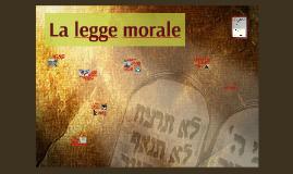 67. La legge morale