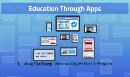 Education Through Apps