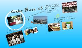 Cake Boss!