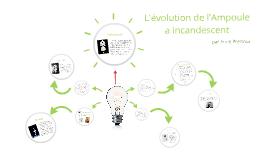 Copy of L'evolution de l'Ampoule