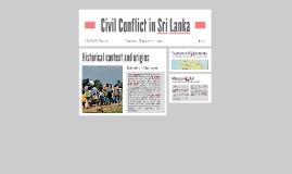 Civil Conflict in Sri Lanka