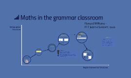 Maths in the grammar classroom