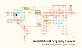 World History and Geography (Honors)