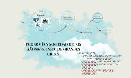 Copy of ECONOMÍA Y SOCIEDAD DE LOS AÑOS 80'S, INICIO DE GRANDES CRISIS.