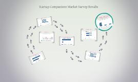 Startup Companions Market Survey Summary
