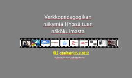 HILC seminaari 15.3.2012