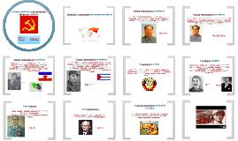 Copy of O  mundo comunista: desenvolvimento, bloqueios e rupturas