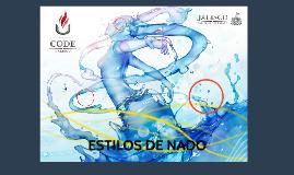 Copy of Estilos de Nado