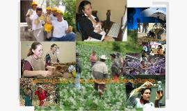 Las mujeres en la sociedad nicaragüense